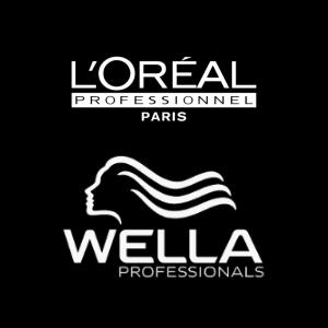 Nos produits L'oréal et wella influence coiffure brest
